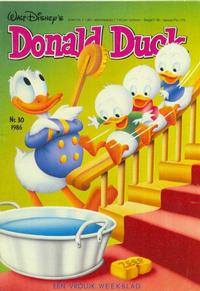 Cover Thumbnail for Donald Duck (Oberon, 1972 series) #30/1986