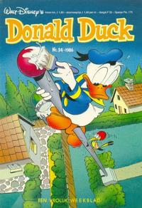 Cover Thumbnail for Donald Duck (Oberon, 1972 series) #34/1986