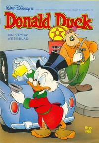 Cover Thumbnail for Donald Duck (Oberon, 1972 series) #35/1986