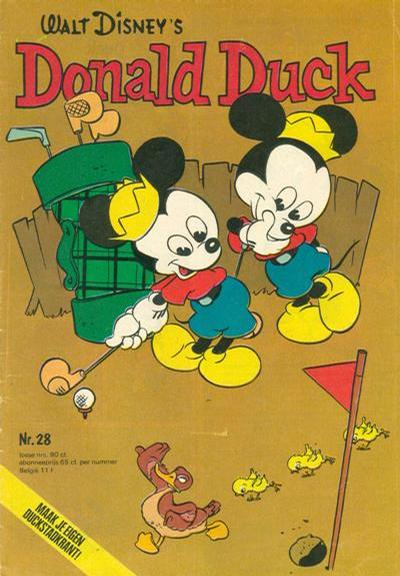 Cover for Donald Duck (Oberon, 1972 series) #28/1974