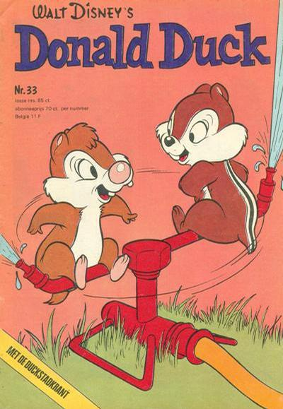 Cover for Donald Duck (Oberon, 1972 series) #33/1974