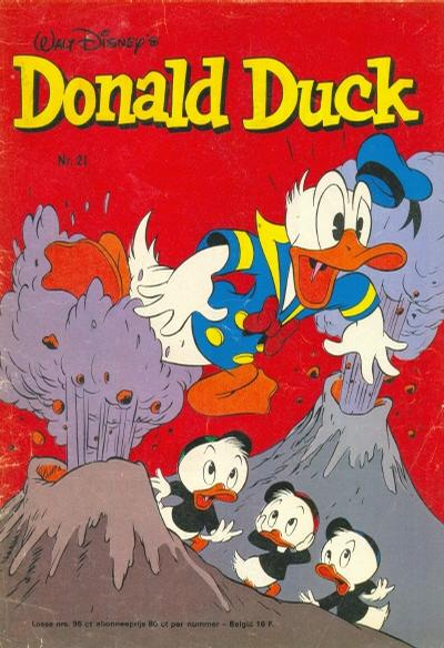 Cover for Donald Duck (Oberon, 1972 series) #21/1976