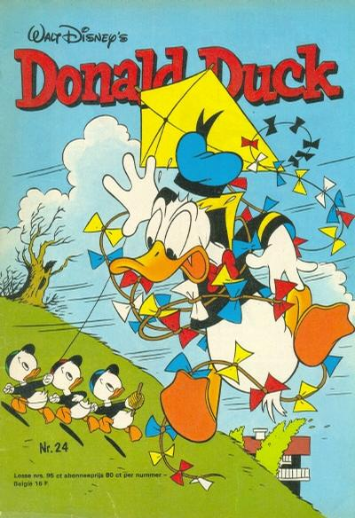 Cover for Donald Duck (Oberon, 1972 series) #24/1976