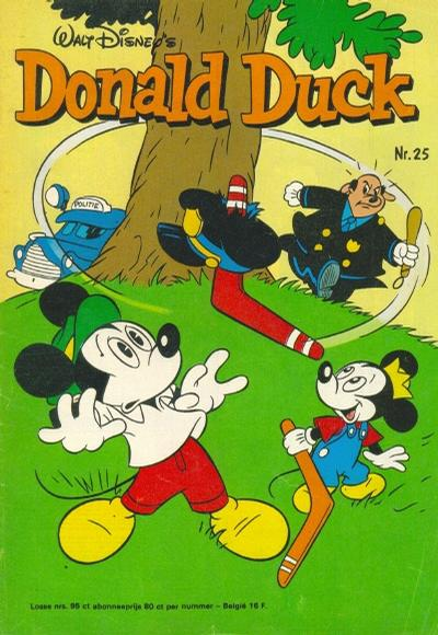 Cover for Donald Duck (Oberon, 1972 series) #25/1976