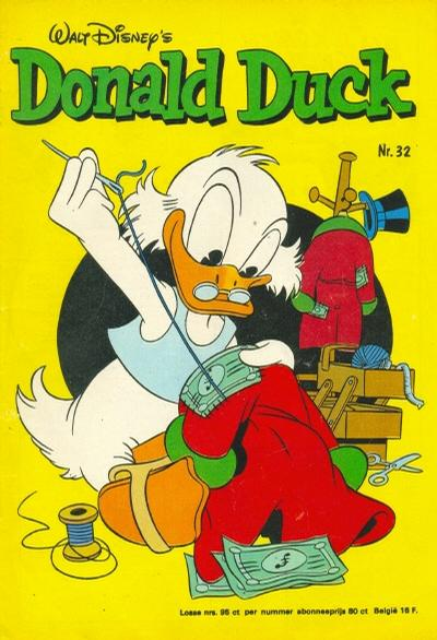 Cover for Donald Duck (Oberon, 1972 series) #32/1976
