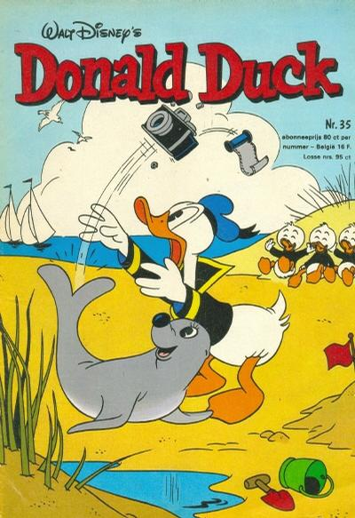 Cover for Donald Duck (Oberon, 1972 series) #35/1976