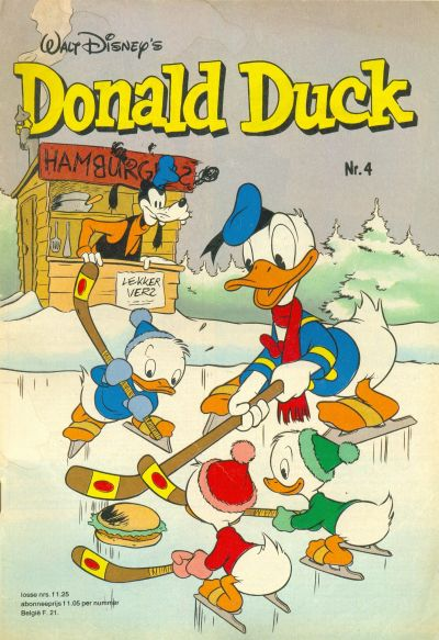 Cover for Donald Duck (Oberon, 1972 series) #4/1980