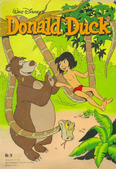 Cover for Donald Duck (Oberon, 1972 series) #9/1980