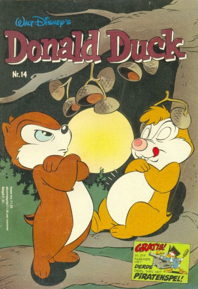 Cover for Donald Duck (Oberon, 1972 series) #14/1980