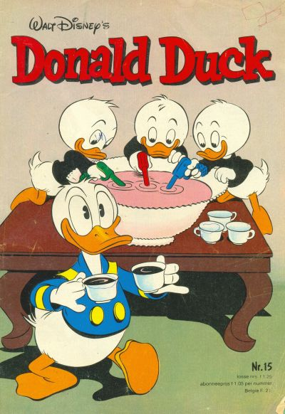 Cover for Donald Duck (Oberon, 1972 series) #15/1980