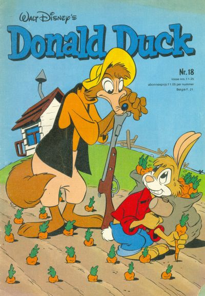 Cover for Donald Duck (Oberon, 1972 series) #18/1980