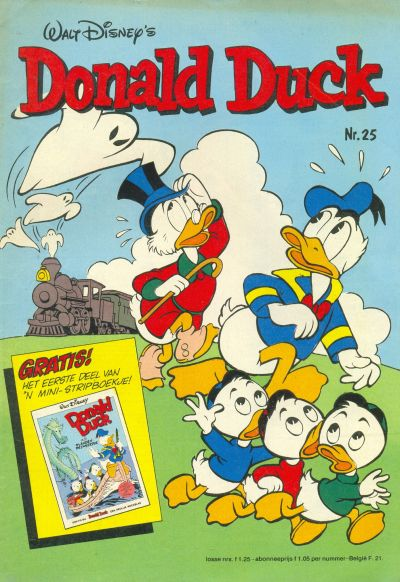 Cover for Donald Duck (Oberon, 1972 series) #25/1980