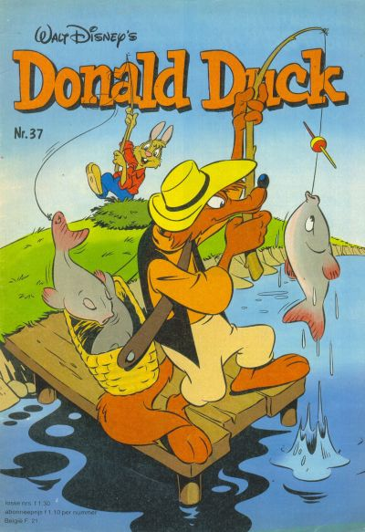 Cover for Donald Duck (Oberon, 1972 series) #37/1980