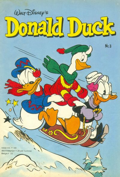 Cover for Donald Duck (Oberon, 1972 series) #3/1981