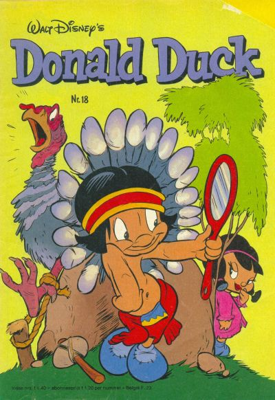 Cover for Donald Duck (Oberon, 1972 series) #18/1981