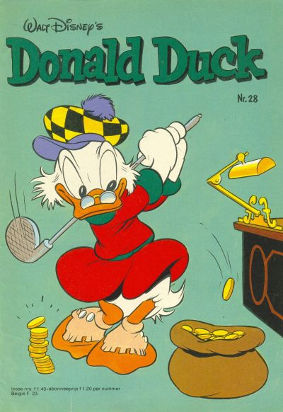 Cover for Donald Duck (Oberon, 1972 series) #28/1981