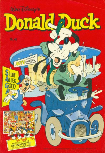 Cover for Donald Duck (Oberon, 1972 series) #41/1981