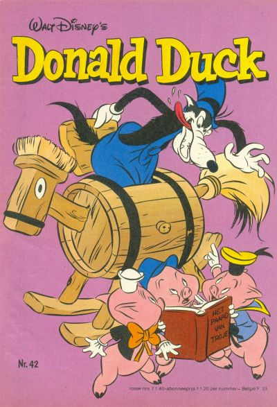 Cover for Donald Duck (Oberon, 1972 series) #42/1981