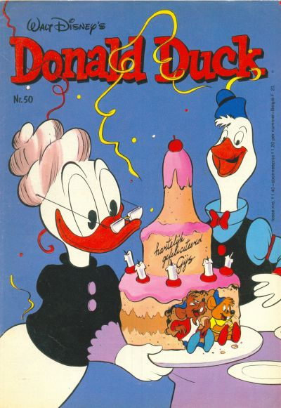 Cover for Donald Duck (Oberon, 1972 series) #50/1981
