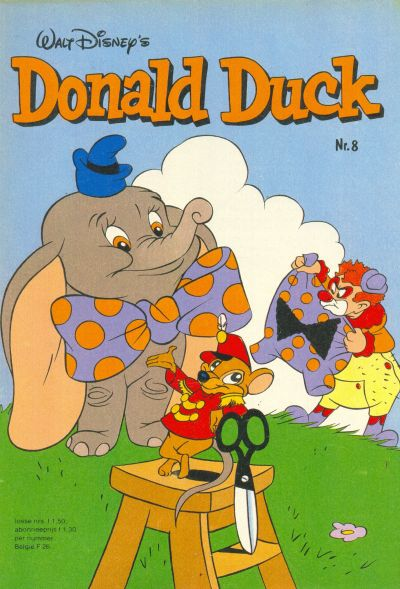 Cover for Donald Duck (Oberon, 1972 series) #8/1982