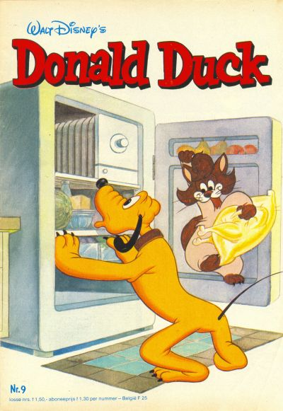 Cover for Donald Duck (Oberon, 1972 series) #9/1982