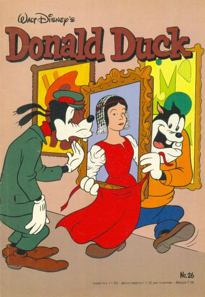Cover for Donald Duck (Oberon, 1972 series) #26/1982