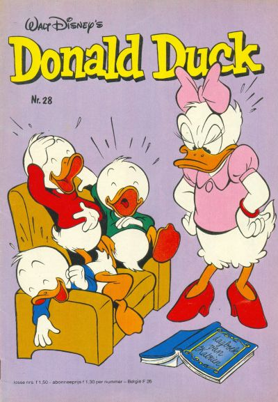 Cover for Donald Duck (Oberon, 1972 series) #28/1982
