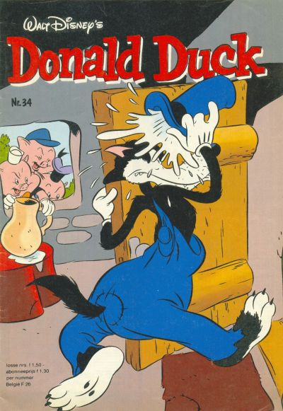 Cover for Donald Duck (Oberon, 1972 series) #34/1982