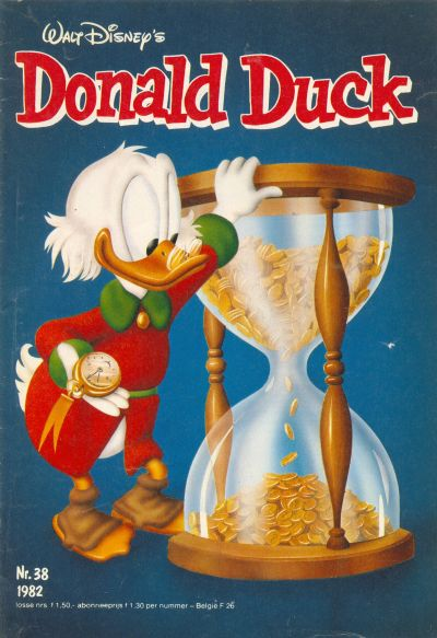 Cover for Donald Duck (Oberon, 1972 series) #38/1982