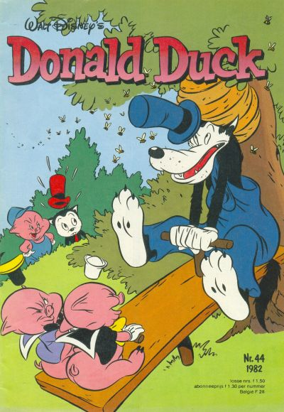 Cover for Donald Duck (Oberon, 1972 series) #44/1982