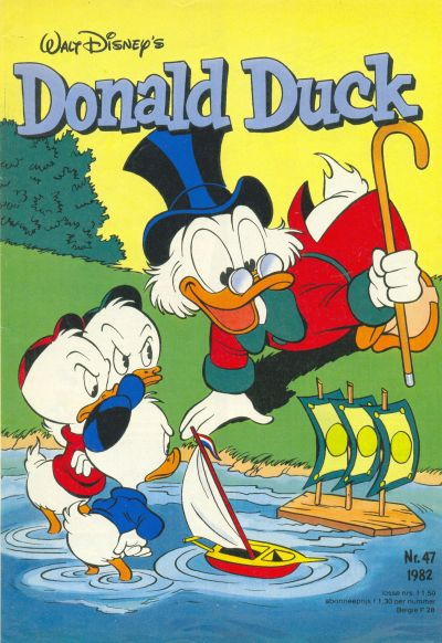 Cover for Donald Duck (Oberon, 1972 series) #47/1982