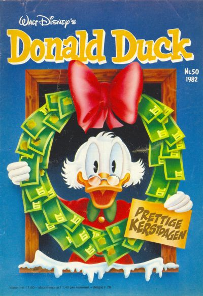Cover for Donald Duck (Oberon, 1972 series) #50/1982