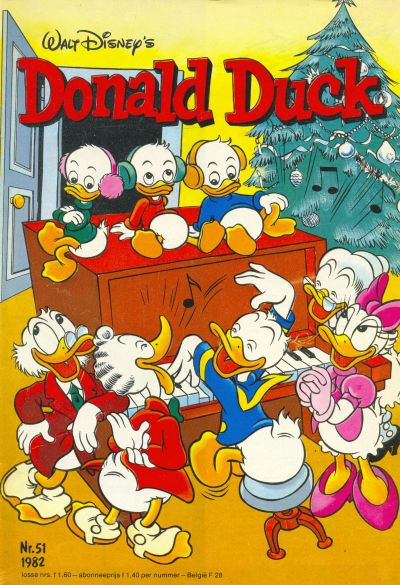 Cover for Donald Duck (Oberon, 1972 series) #51/1982