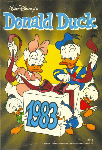 Cover for Donald Duck (Oberon, 1972 series) #1/1983