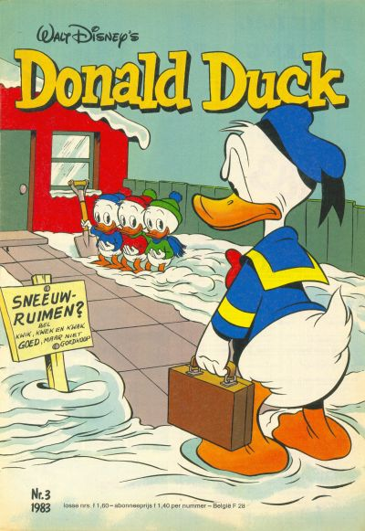 Cover for Donald Duck (Oberon, 1972 series) #3/1983