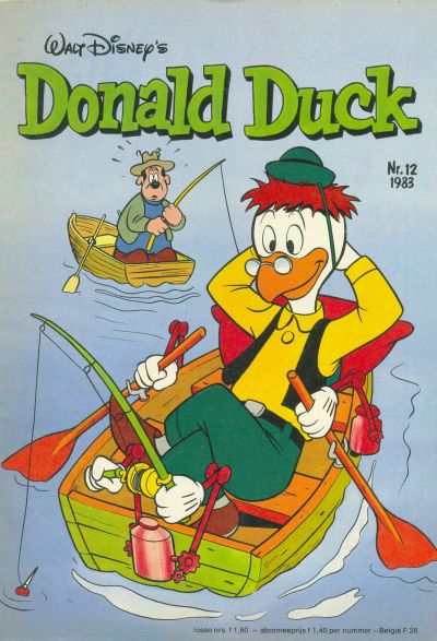 Cover for Donald Duck (Oberon, 1972 series) #12/1983