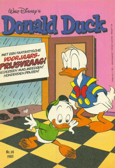 Cover for Donald Duck (Oberon, 1972 series) #14/1983