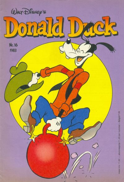 Cover for Donald Duck (Oberon, 1972 series) #16/1983