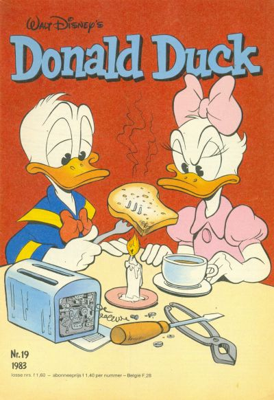 Cover for Donald Duck (Oberon, 1972 series) #19/1983
