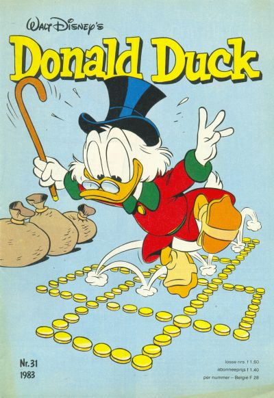 Cover for Donald Duck (Oberon, 1972 series) #31/1983