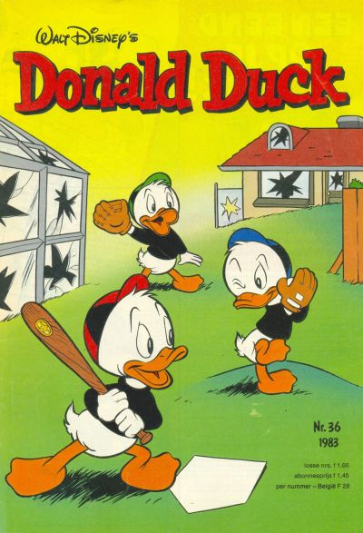Cover for Donald Duck (Oberon, 1972 series) #36/1983