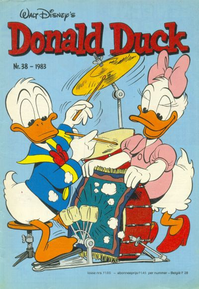 Cover for Donald Duck (Oberon, 1972 series) #38/1983