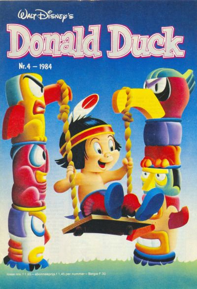 Cover for Donald Duck (Oberon, 1972 series) #4/1984