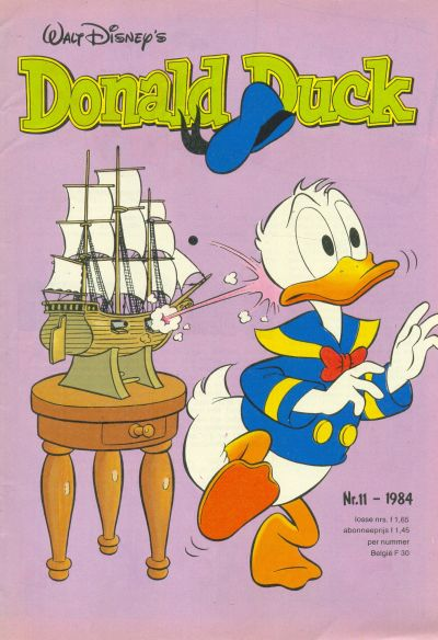 Cover for Donald Duck (Oberon, 1972 series) #11/1984