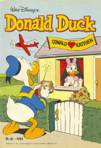 Cover for Donald Duck (Oberon, 1972 series) #18/1984