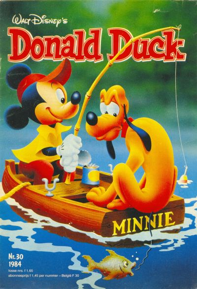 Cover for Donald Duck (Oberon, 1972 series) #30/1984