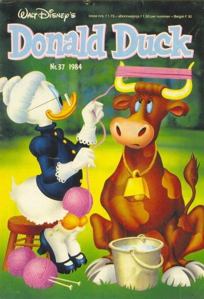 Cover for Donald Duck (Oberon, 1972 series) #37/1984