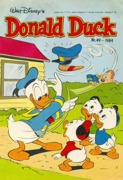 Cover for Donald Duck (Oberon, 1972 series) #49/1984