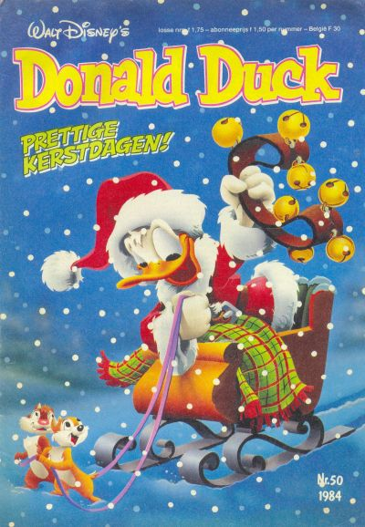 Cover for Donald Duck (Oberon, 1972 series) #50/1984