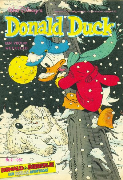 Cover for Donald Duck (Oberon, 1972 series) #2/1985
